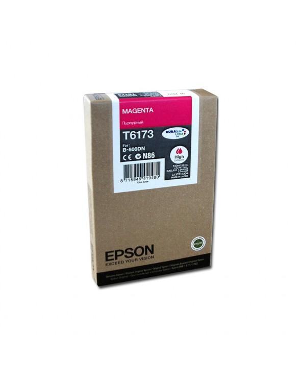 Epson Κασέτα Μελάνης T6173 Ματζέντα by DoctorPrint