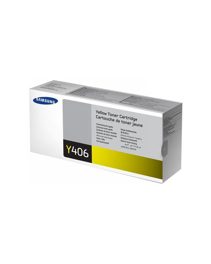 Samsung Κασέτα Τόνερ CLT-Y406S Κίτρινο by DoctorPrint