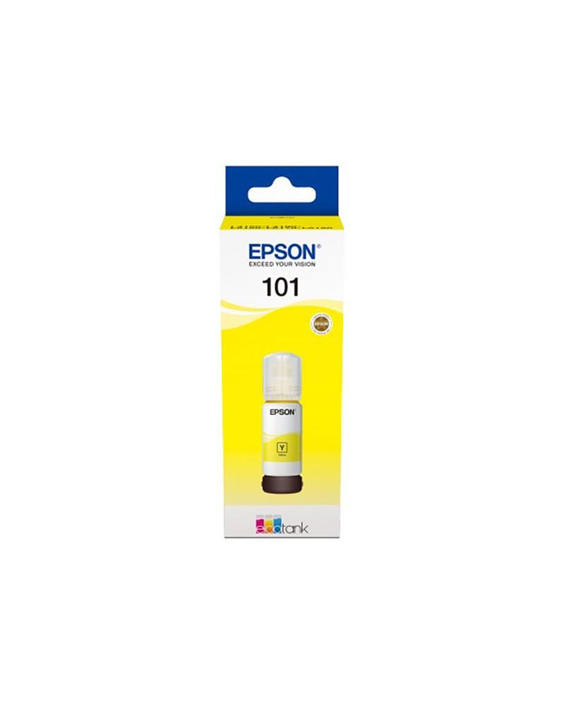 Epson Mελανοδοχείο 101 Κίτρινο by DoctorPrint