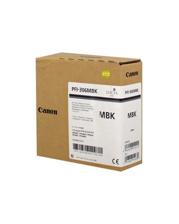 Canon Κασέτα Μελάνης PFI-306 Μαύρο Ματ by DoctorPrint