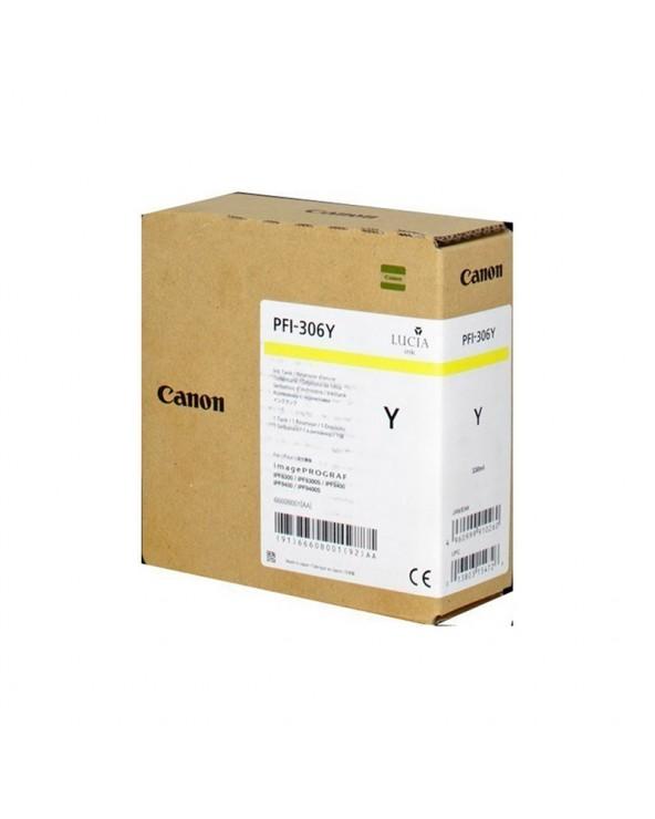 Canon Κασέτα Μελάνης Σειρά PFI-306 Κίτρινο by DoctorPrint