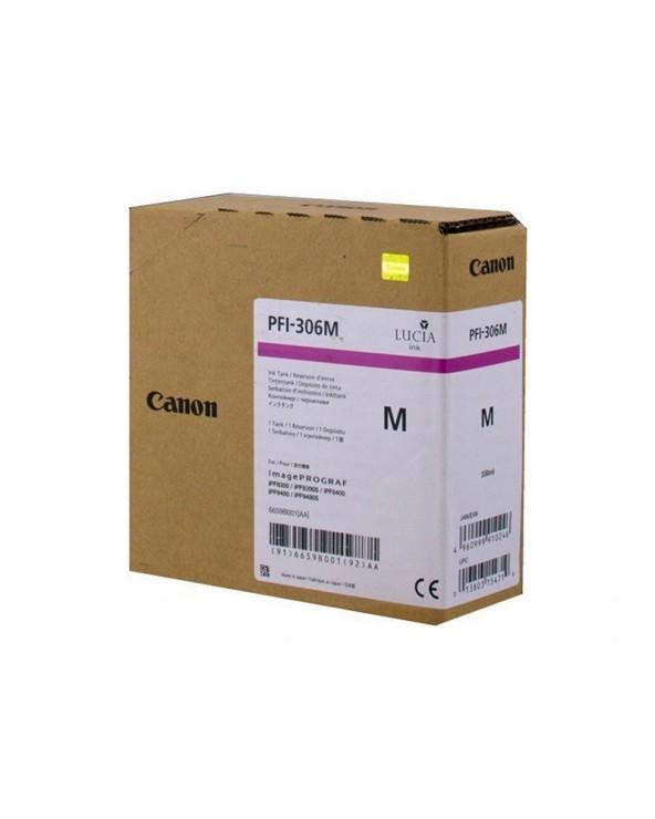 Canon Κασέτα Μελάνης Σειρά PFI-306 Ματζέντα by DoctorPrint