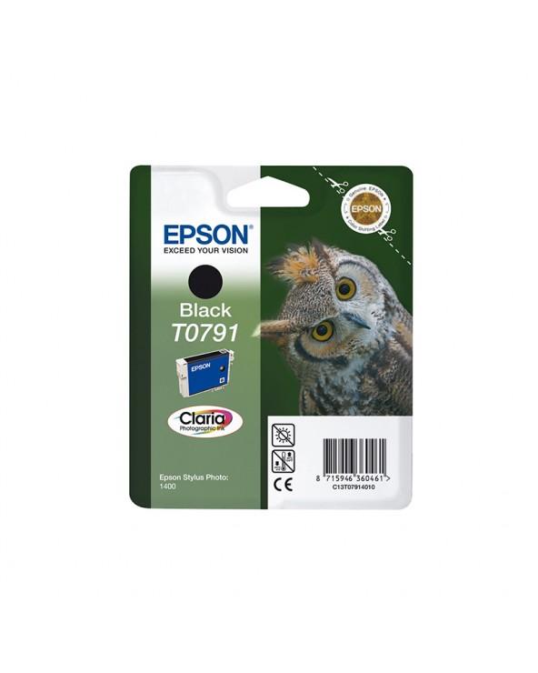 Epson Κασέτα Μελάνης T0791 Μαύρο by DoctorPrint