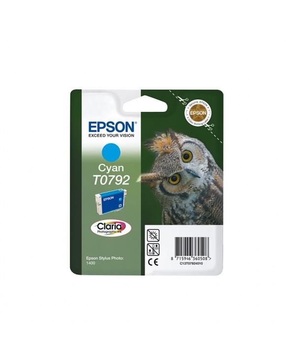 Epson Κασέτα Μελάνης T0792 Κυανό by DoctorPrint