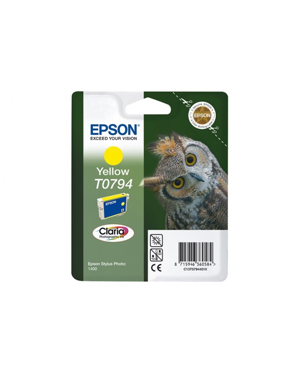 Epson Κασέτα Μελάνης T0794 Κίτρινο by DoctorPrint
