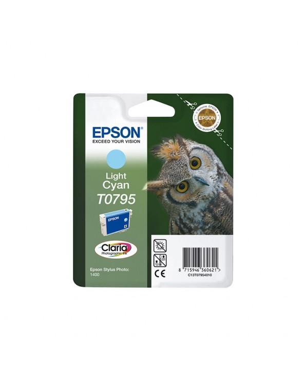 Epson Κασέτα Μελάνης T0795 Ανοιχτό Κυανό by DoctorPrint