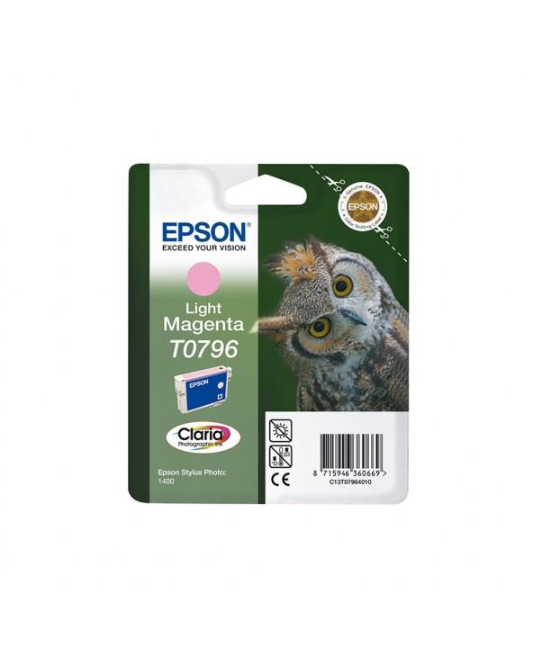 Epson Κασέτα Μελάνης T0796 Ανοιχτό Ματζέντα by DoctorPrint