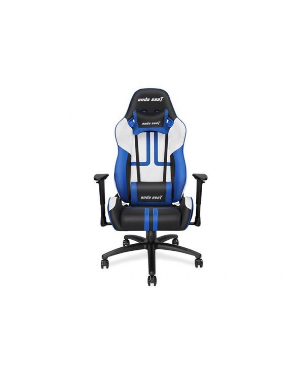 Καρέκλα Gaming Anda Seat Viper Black - White - Blue by DoctorPrint
