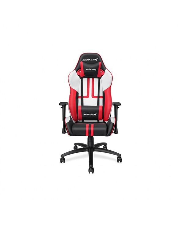 Καρέκλα Gaming Anda Seat Viper Black - White - Red  by DoctorPrint