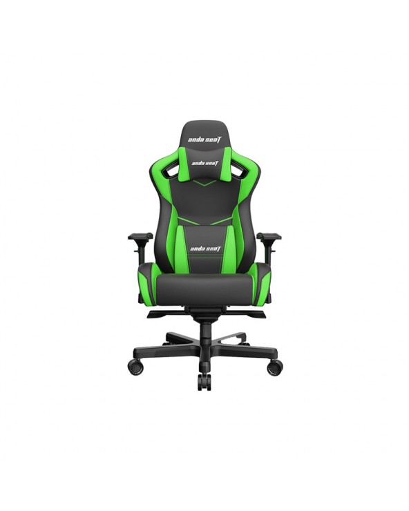Gaming Chair Anda Seat AD12XL KAISER - II Black-Green by DoctorPrint