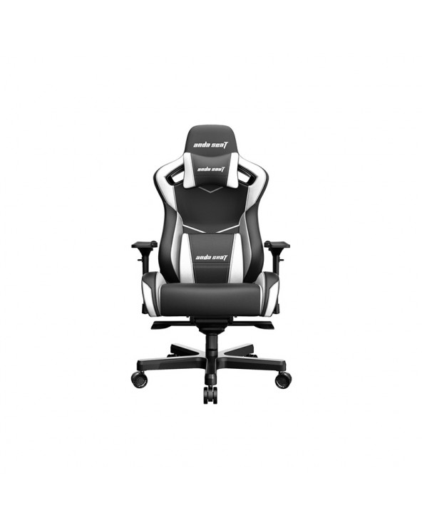 Gaming Chair Anda Seat AD12XL KAISER - II Black-White by DoctorPrint