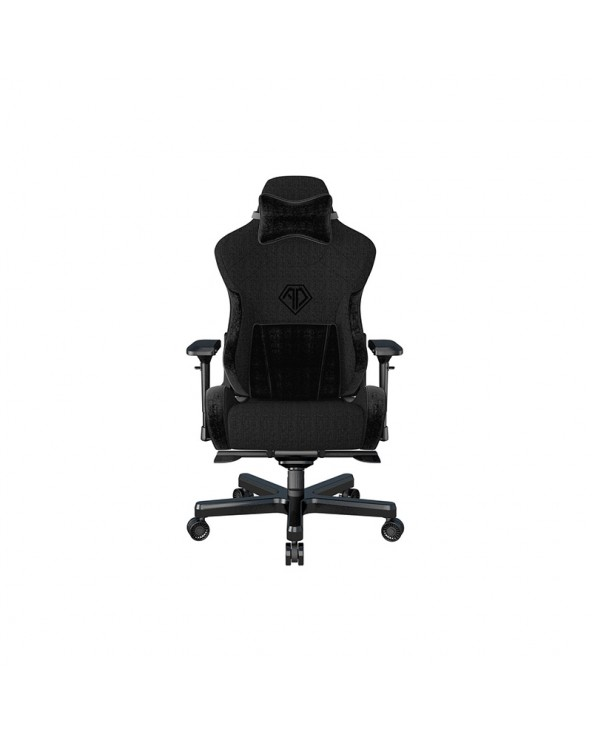 Anda Seat Gaming Chair T-PRO II Black Fabric with Alcantara Stripes by DoctorPrint