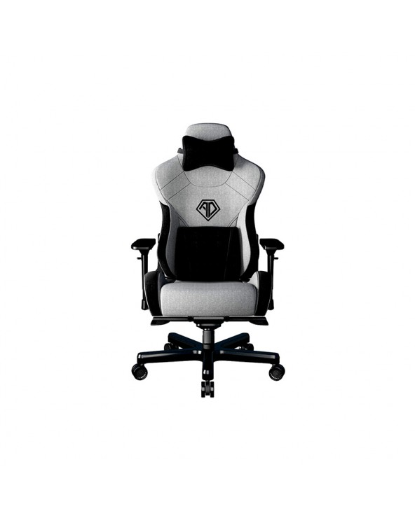copy of Anda Seat Gaming Chair T-PRO II Light Grey - BlackFabric with Alcantara Stripes by DoctorPrint