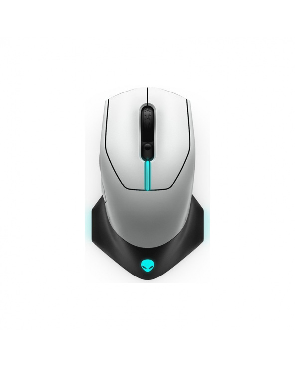 Dell Alienware Wired/Wireless Gaming Mouse - AW610M - Lunar Light by Doctor Print