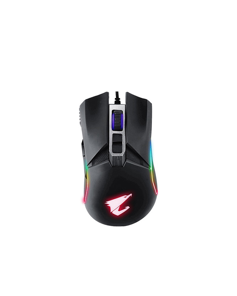 Gigabyte MOUSE OPTICAL GAMING AORUS M5 USB BLACK by Doctor Print