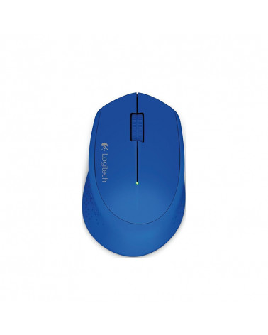 Logitech Mouse Wireless M280 Blue by Doctor Print