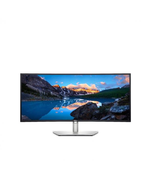 Dell Monitor 34'' WQHD Curved Ultrasharp IPS, HDMI, DisplayPort, USB-C, RJ45 Height Adjustable,Speakers by Doctor Print