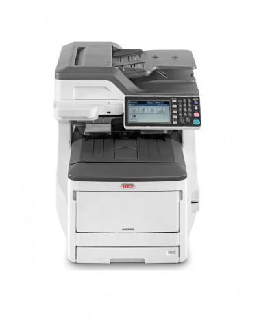 OKI MC853DN Multi-Function LED Laser Printer by DoctorPrint