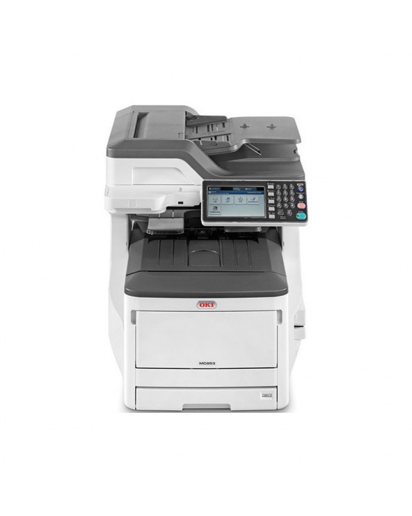 OKI MC853DN Multi-Function LED Laser Printer by DoctorPrint