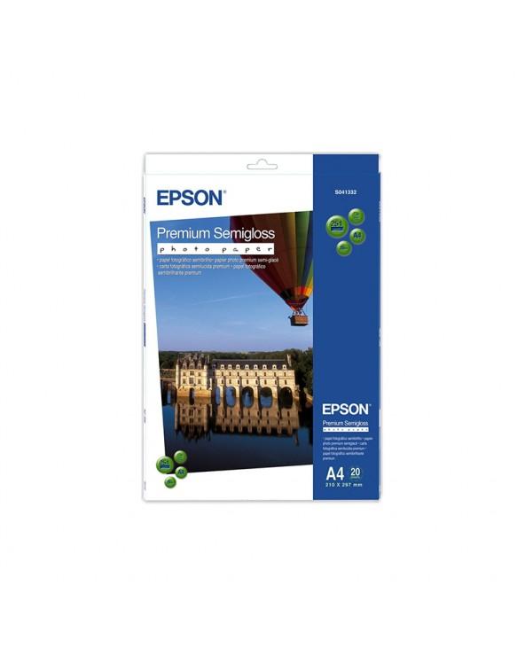 Φωτογραφικό Χαρτί Epson Premium Semi-Glossy A4 251gr/m² (20 φύλλα) by DoctorPrint