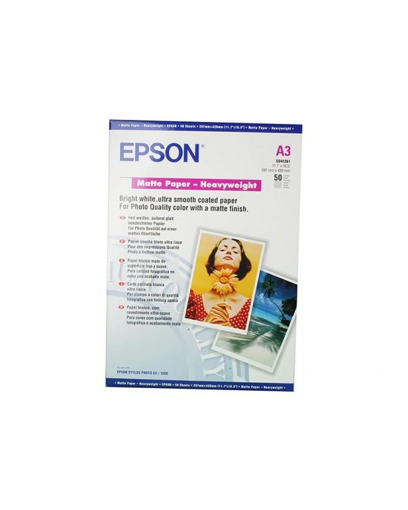 Epson Heavyweight Paper Matte A3 (50 Sheets) 167gr by DoctorPrint