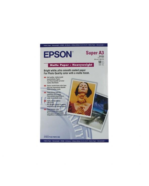 Epson Heavyweight Paper Matte A3+ (50 Sheets) 167gr by DoctorPrint