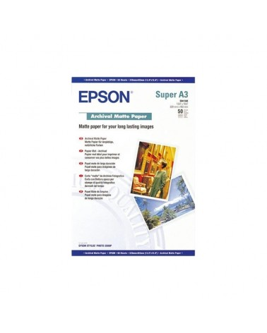 Epson Archival Paper Matte A3+ (50 Sheets) 192gr by DoctorPrint