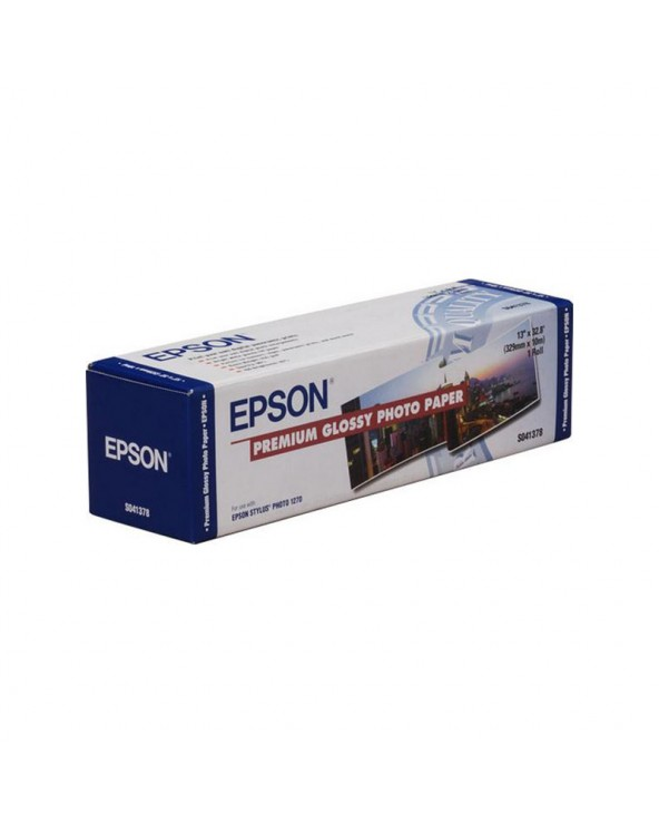 """Epson Premium Photo Paper Roll Glossy 13"""" (329mm x 10m) 255gr by DoctorPrint"""