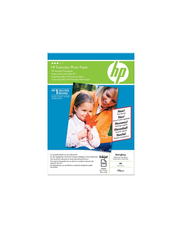 HP Everyday Photo Paper Semi Glossy A4 (100 Sheets) 200gr by DoctorPrint