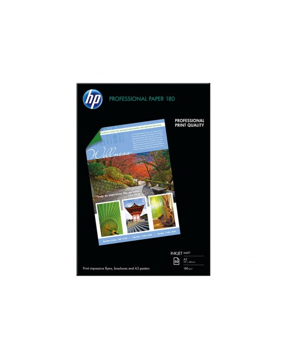 HP Superior Inkjet Paper 180 matte A3 (50 Sheets) by DoctorPrint