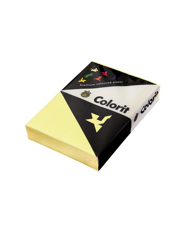 Lessebo Colorit Paper A4 80gr Yellow by DoctorPrint