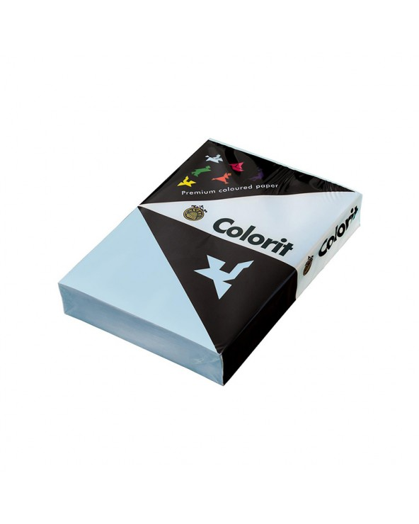 Lessebo Colorit Paper A4 160gr Sky Blue by DoctorPrint