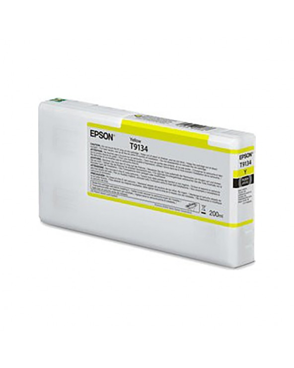 Epson Ink Cartridge T9134 Yellow 200ml by DoctorPrint