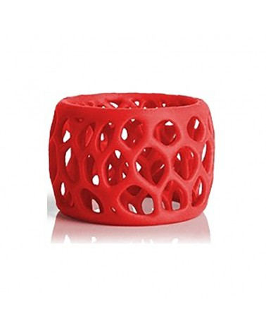 Cube Pro 3D Cartridge PLA Red by DoctorPrint