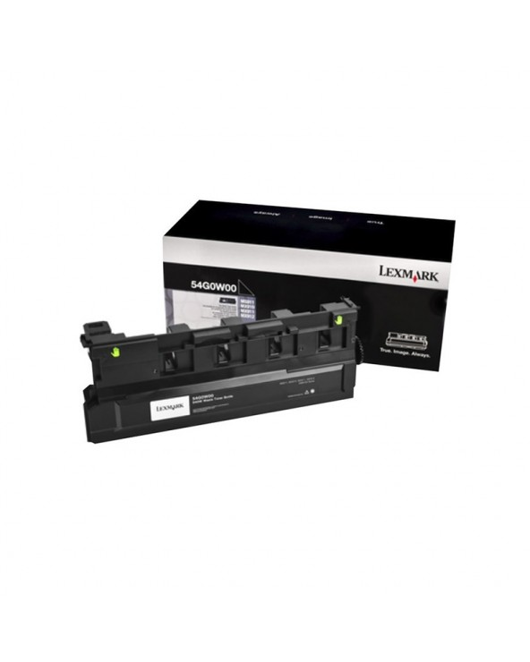 Lexmark Black Waste Toner 54G0W00 by DoctorPrint