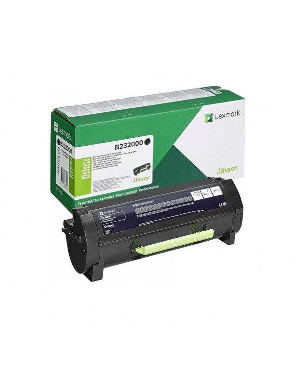 Lexmark Toner Cartridge B232000 B/MB 2338/2442/2546/2650 3k Black by DoctorPrint