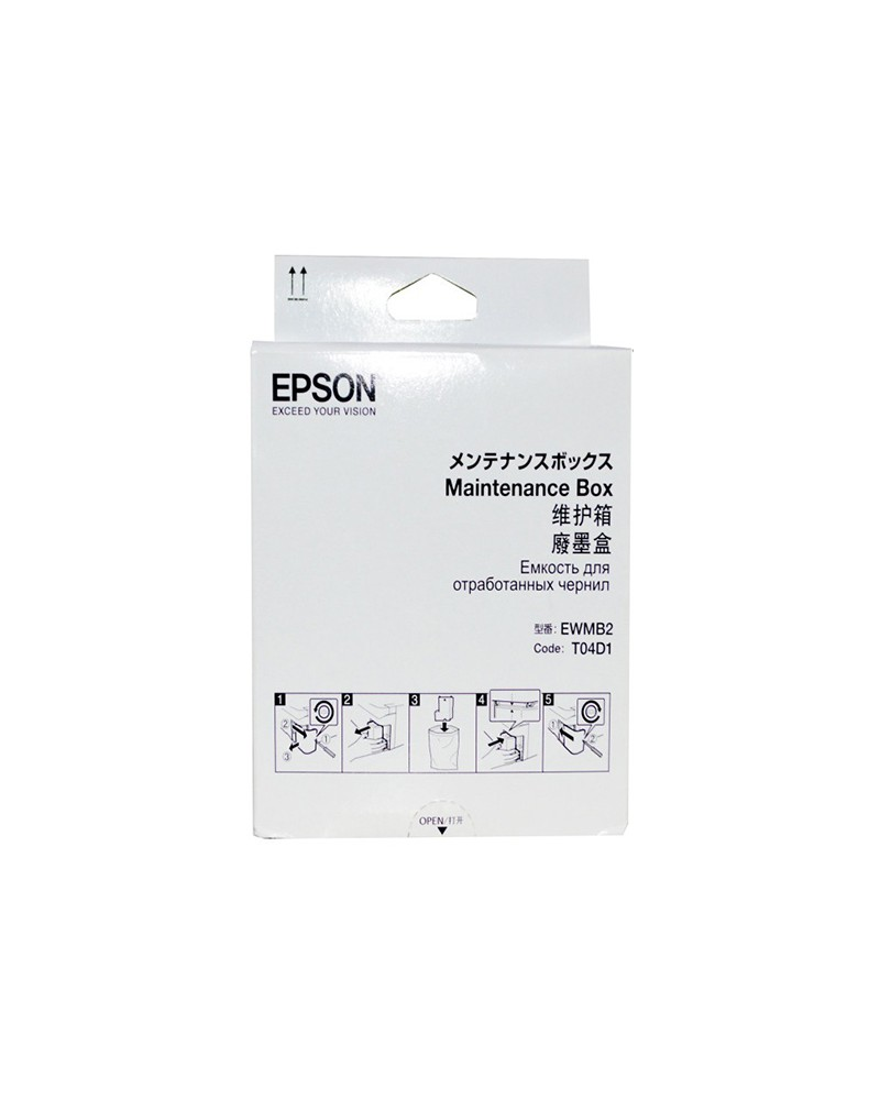 Epson Waste Toner Bottle C13T04D100 by DoctorPrint