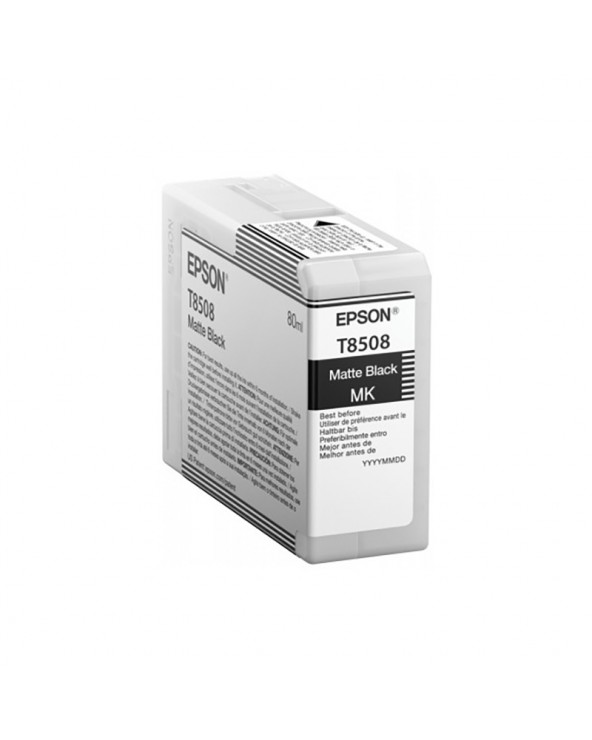 Epson Κασέτα Μελάνης T8508 Μαύρο Ματ 80ml by DoctorPrint