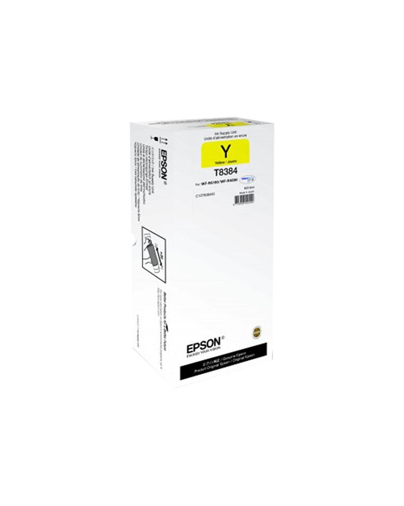 Epson Κασέτα Μελάνης T8384 Κίτρινο XL by DoctorPrint