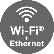 WiFi - Ethernet Icon.